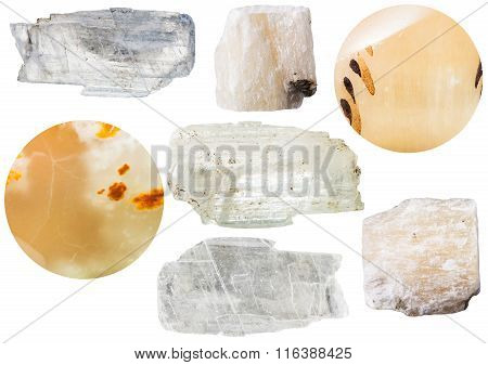 Gypsum Mineral Stones - Crystals And Selenite