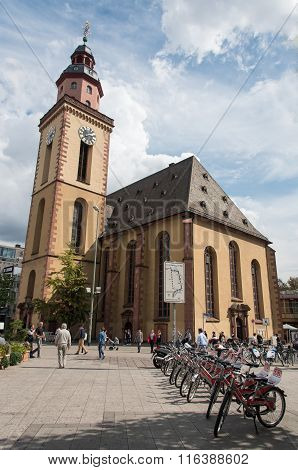 St. Paul's Church, Frankfurt Am Main Germany