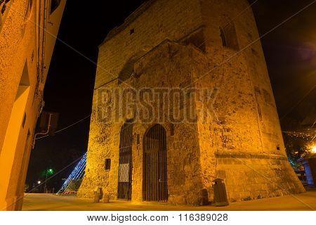 Porta Terra Tower By Night