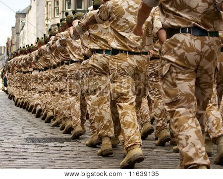 British Army Soldiers