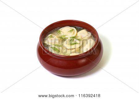Russian dumplings.