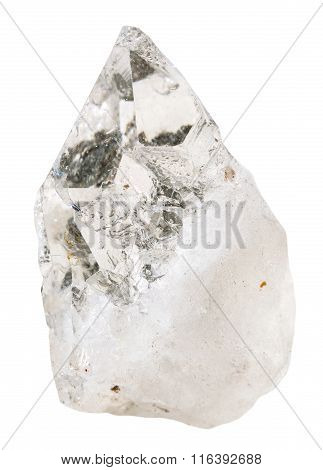 Rock-crystal (clear Quartz) Mineral Stone Isolated