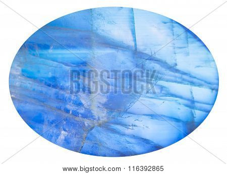 Cabochon From Blue Moonstone (adularia) Gem