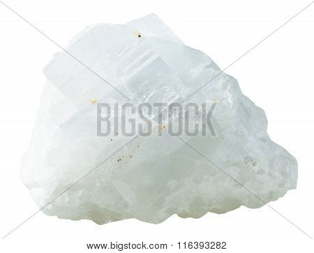 Crystalline Magnesite Mineral Stone Isolated