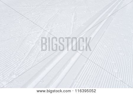 Ski Track, Abstract Background