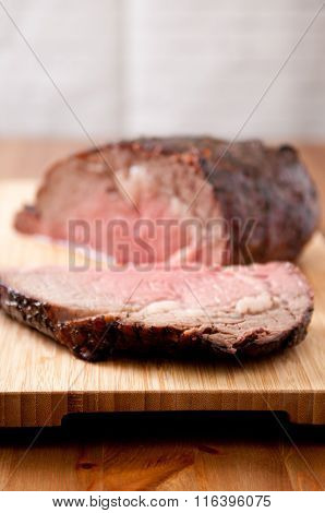 Sliced Beef Rib Roast