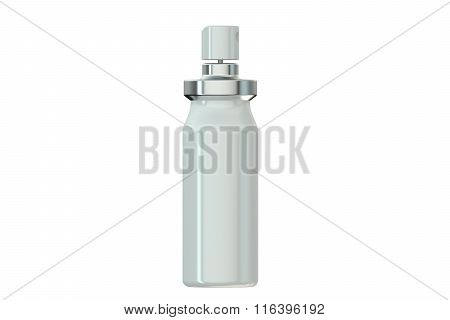 White Metallic Spray Bottle