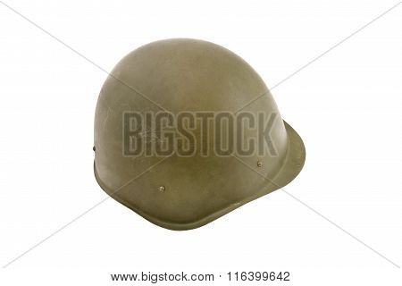 Russian (ussr) Battle Helmet.