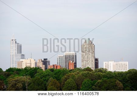 Raleigh downtown skyline