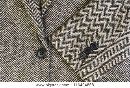 Tweed Women Jacket With Closeup