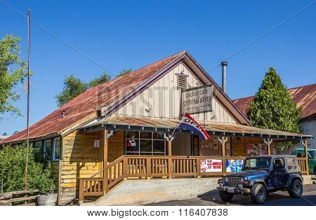 General Store In Coulterville, California