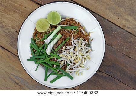 Stir Fried Noodles Or Padmee Korat