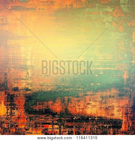 Abstract background or texture. With different color patterns: yellow (beige); brown; red (orange); black; green