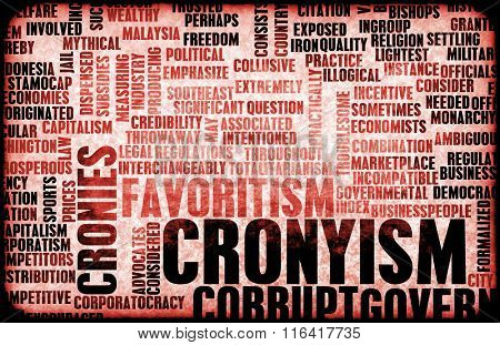 Cronyism in the Business and Government as a Concept