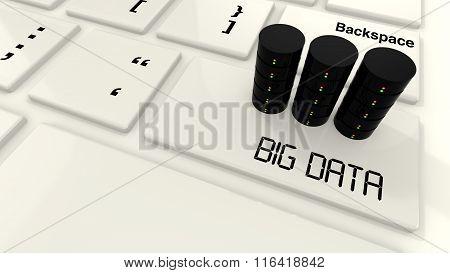 Three Server On A Keyboard