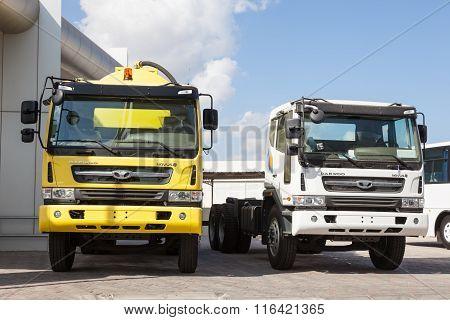 Daewoo Novus Trucks