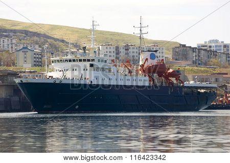 Cargo - passenger ship i