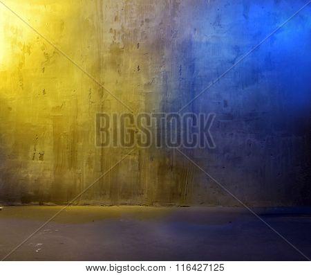 Colorful concrete background