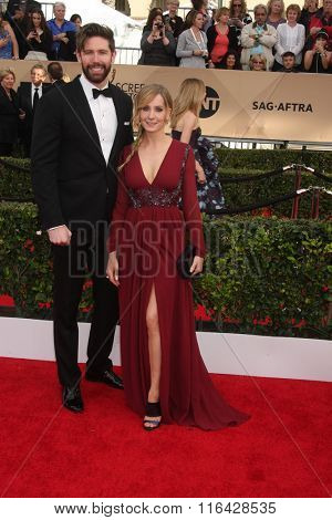 LOS ANGELES - JAN 30:  Joanne Froggatt at the 22nd Screen Actors Guild Awards at the Shrine Auditorium on January 30, 2016 in Los Angeles, CA