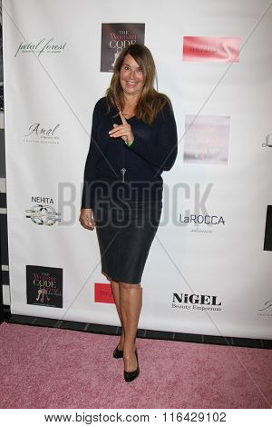 LOS ANGELES - JAN 29:  Lorraine Bracco at the An Evening with The Woman Code Event at the City Club on January 29, 2016 in Los Angeles, CA