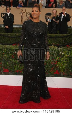 LOS ANGELES - JAN 30:  Queen Latifah at the 22nd Screen Actors Guild Awards at the Shrine Auditorium on January 30, 2016 in Los Angeles, CA