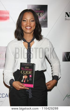 LOS ANGELES - JAN 29:  Garcelle Beauvais at the An Evening with The Woman Code Event at the City Club on January 29, 2016 in Los Angeles, CA