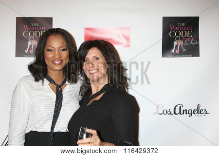 LOS ANGELES - JAN 29:  Garcelle Beauvais, Susan Wright at the An Evening with The Woman Code Event at the City Club on January 29, 2016 in Los Angeles, CA