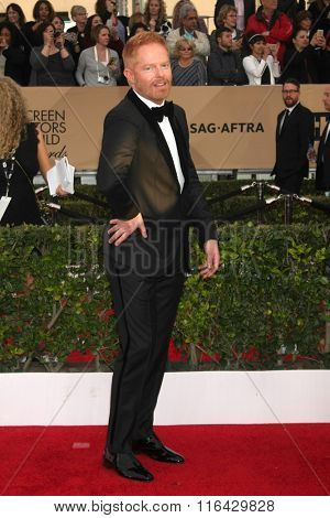 LOS ANGELES - JAN 30:  Jesse Tyler Ferguson at the 22nd Screen Actors Guild Awards at the Shrine Auditorium on January 30, 2016 in Los Angeles, CA