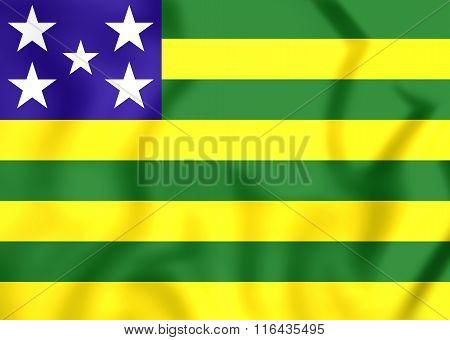 Flag Of Goias State, Brazil.