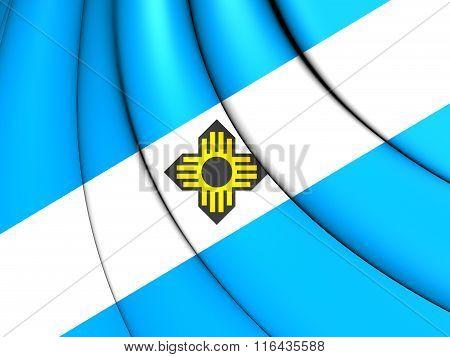 Flag Of Madison (wisconsin), Usa.