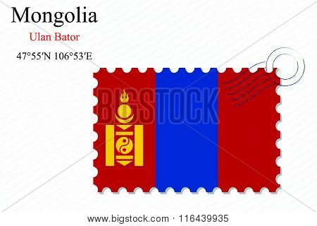 Mongolia Stamp Design