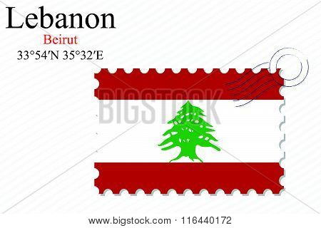 Lebanon Stamp Design