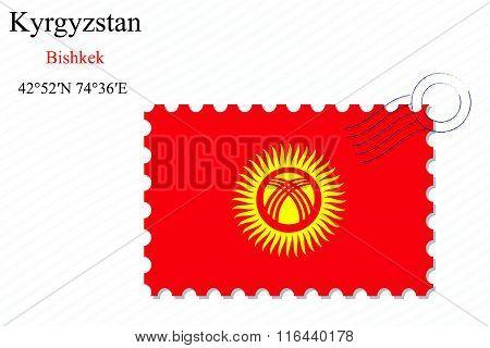 Kyrgyzstan Stamp Design