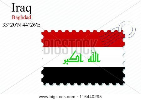 Iraq Stamp Design
