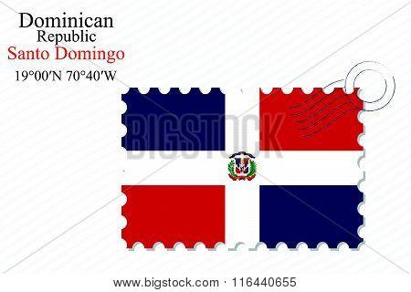Dominican Republic Stamp Design