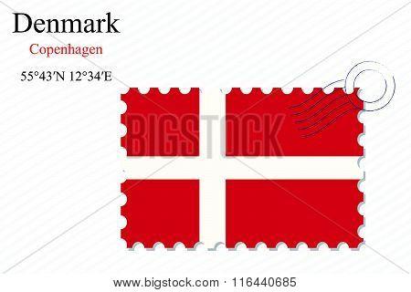Denmark Stamp Design