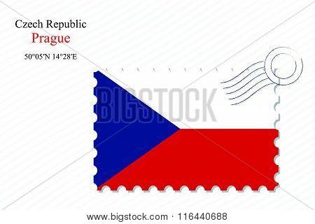 Czech Republic Stamp Design