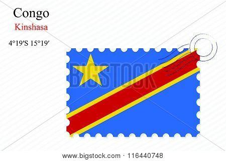 Republic Of The Congo Stamp Design