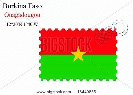 Burkina Faso Stamp Design