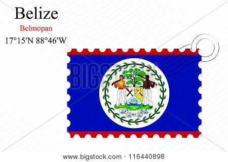 Belize Stamp Design