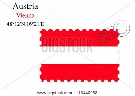 Austria Stamp Design