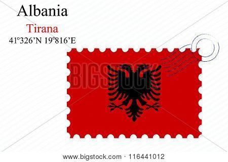 Albania Stamp Design