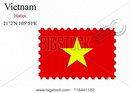 Vietnam Stamp Design
