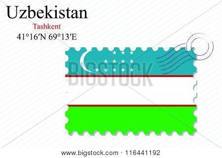 Uzbekistan Stamp Design