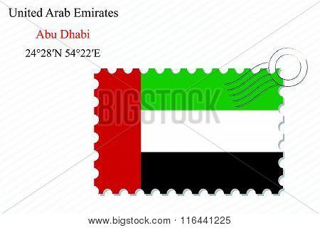 United Arab Emirates Stamp Design