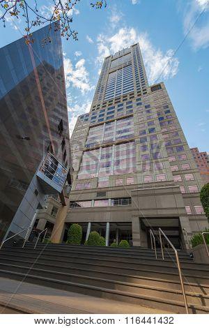 Skyscraper Building In Melbourne Cbd