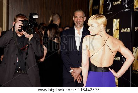 Hamzi Hijazi, and Jaime Pressly at the 20th Annual Art Directors Guild Excellence In Production Design Awards held at the Beverly Hilton Hotel in Beverly Hills, USA on January 31, 2016.