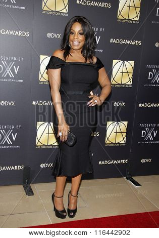 Niecy Nash at the 20th Annual Art Directors Guild Excellence In Production Design Awards held at the Beverly Hilton Hotel in Beverly Hills, USA on January 31, 2016.