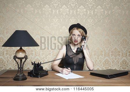 Phone Call At Work