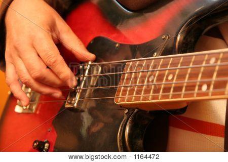Guitarist In The Nightclub